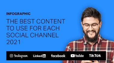 Best content for social channels 2021