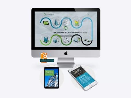 FRAMECAD - Digital Marketing Case Study | Done by Friday