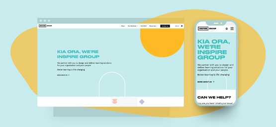 The Inspire Group: Website Transformation
